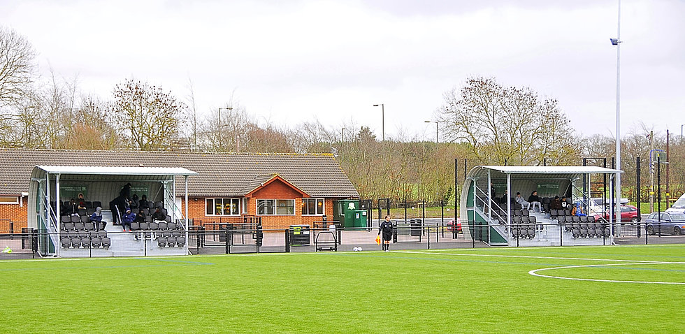 Sports Club Granstands 2 x 60 seat units in Leatherhead