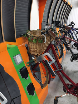 Business Hub with E Bike Charging