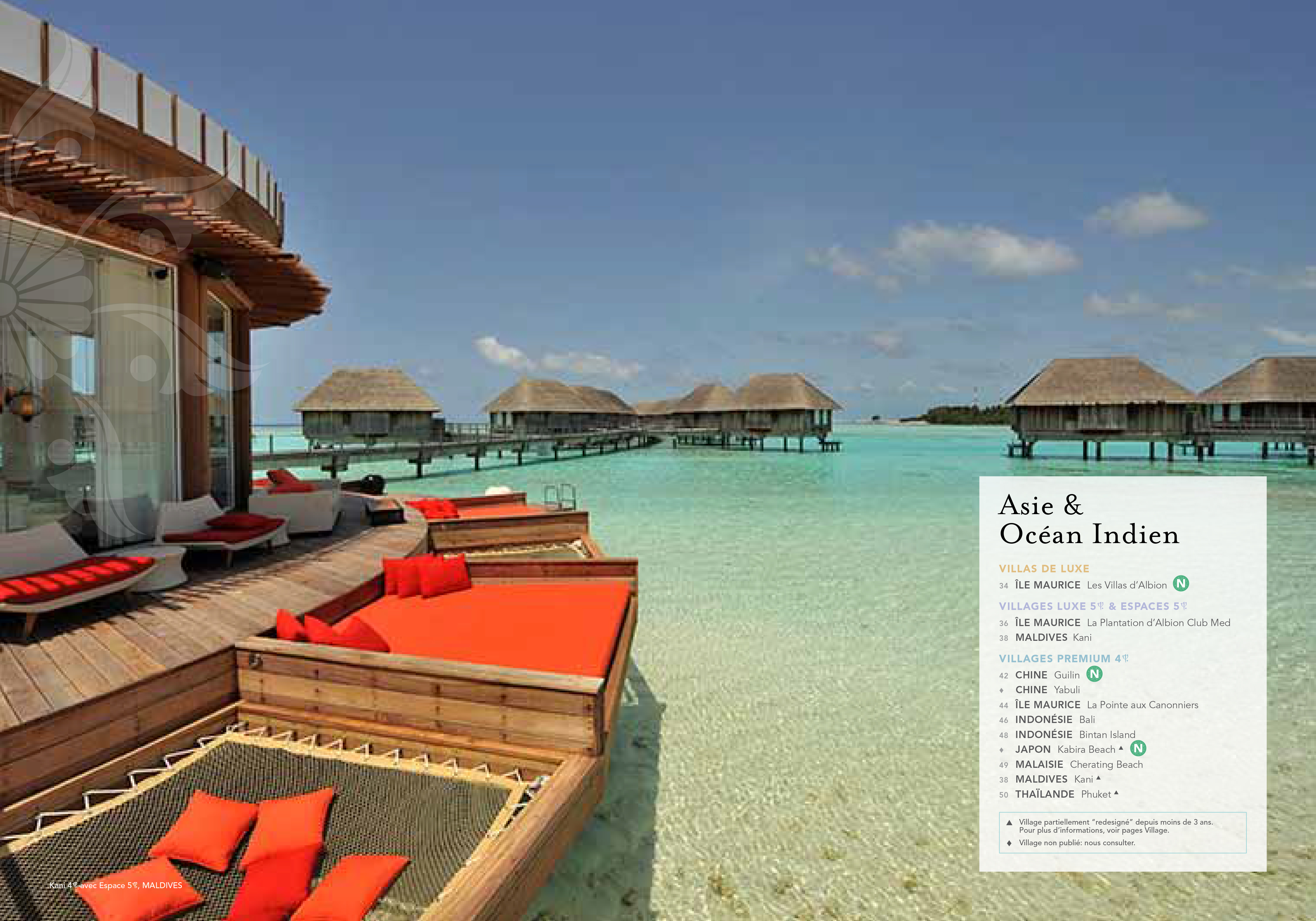 CATALOGUES CLUB MED POUR BETC