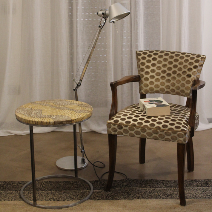 Coffee table savana (diametro cm. 45).