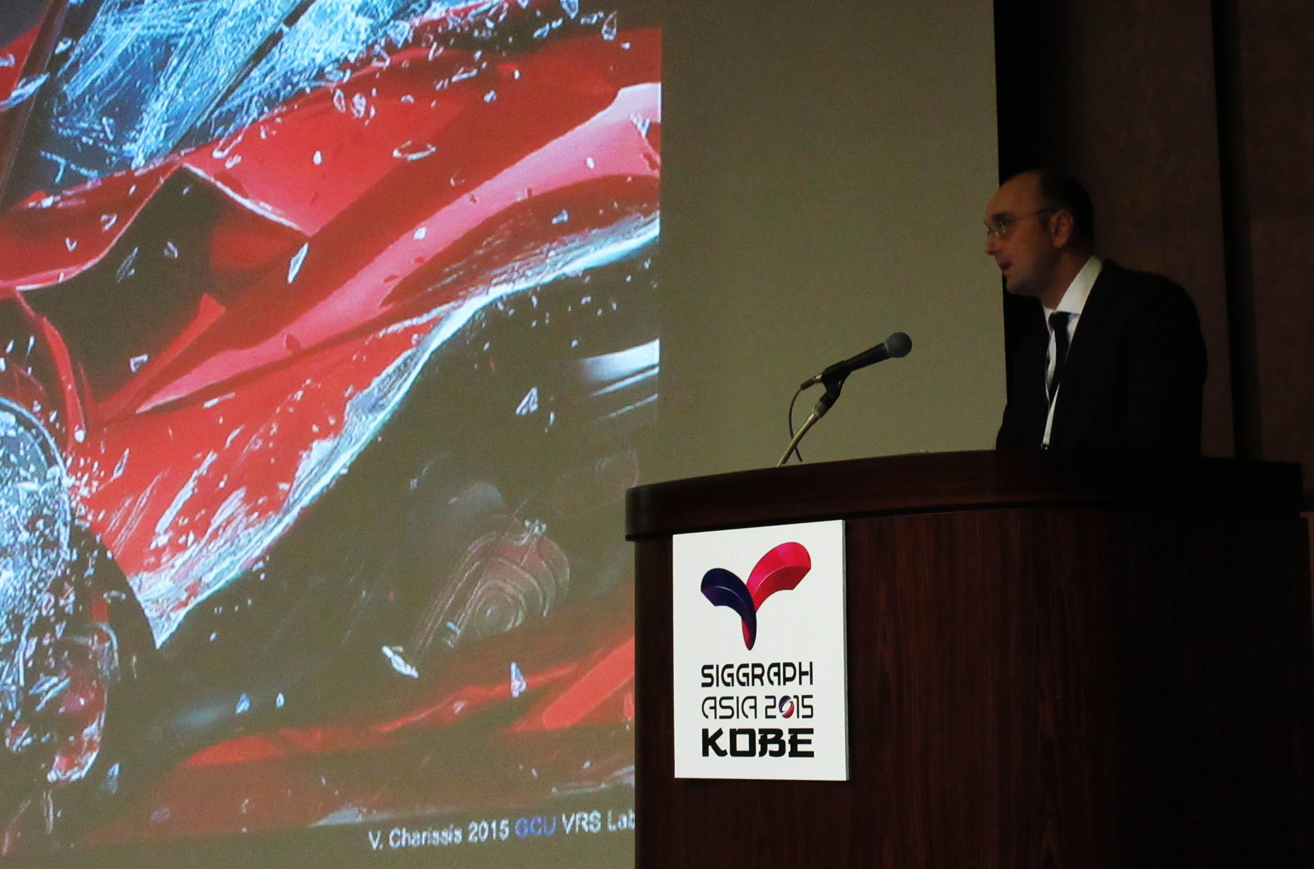 ACM Siggraph Asia 2015 Kobe Japan