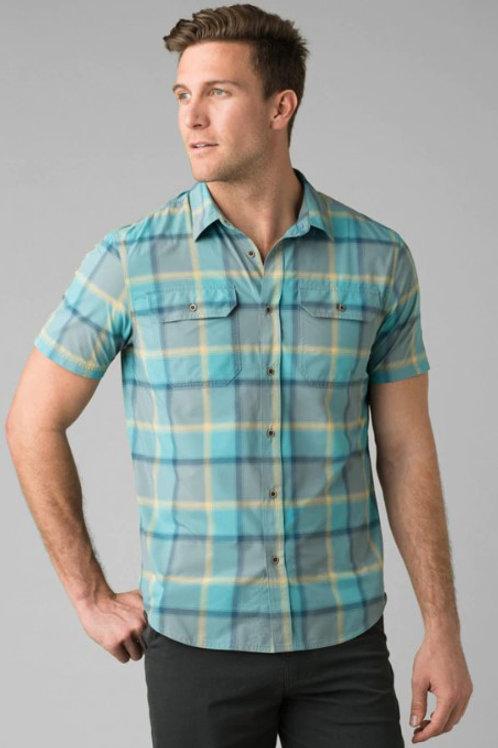 prAna M's Cayman Plaid SS Shirt