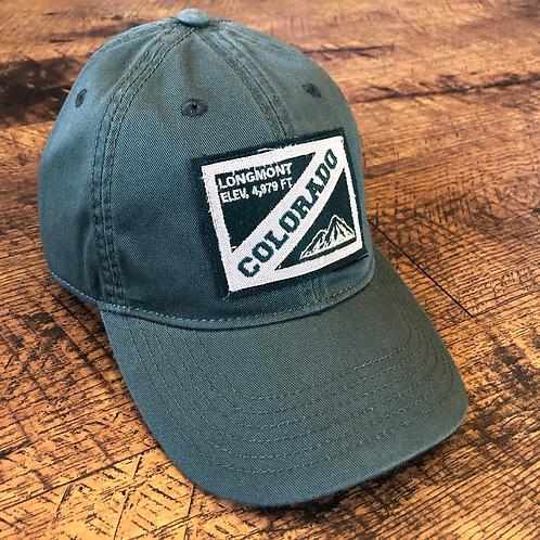 Longmont Baseball Hat Green
