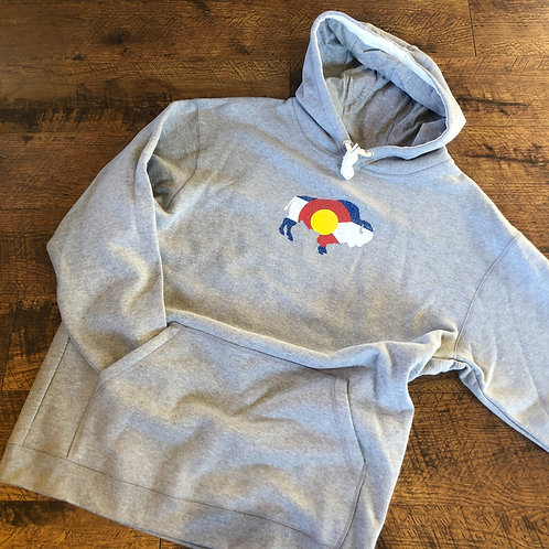 CO Bison Hoody