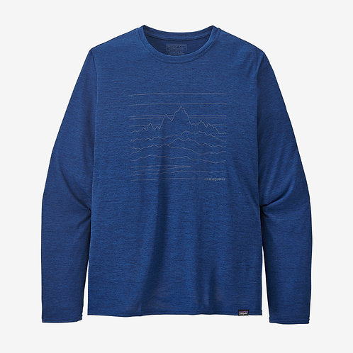Patagonia M's Cap Cool Daily Graphic LS Tee