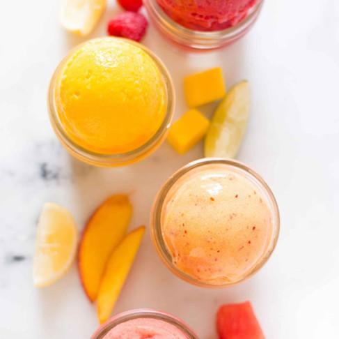 Fresh Fruit Sorbet