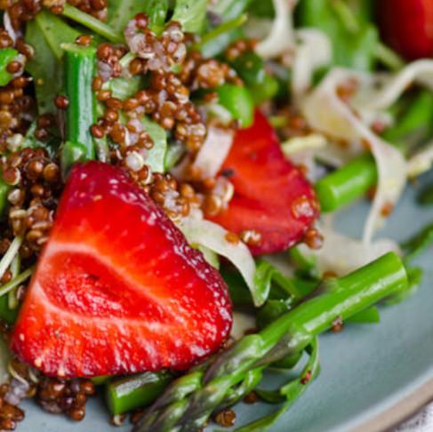 Asparagus & Strawberry Salad