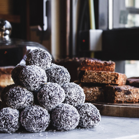 Walnut and Cocoa Bliss Balls