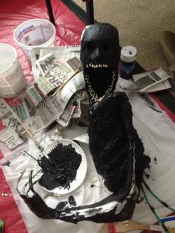 figure, latex paint base 1