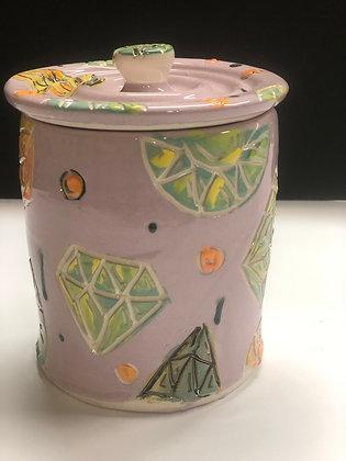 Lavender Gem Jar