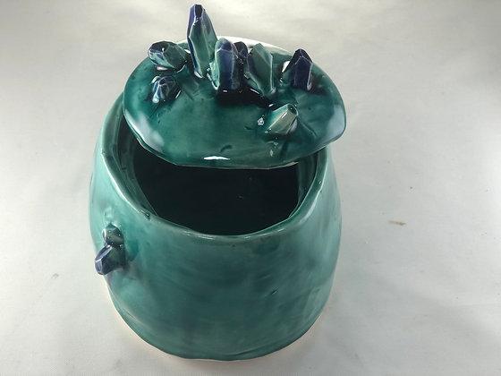 Turquoise Gem Jar