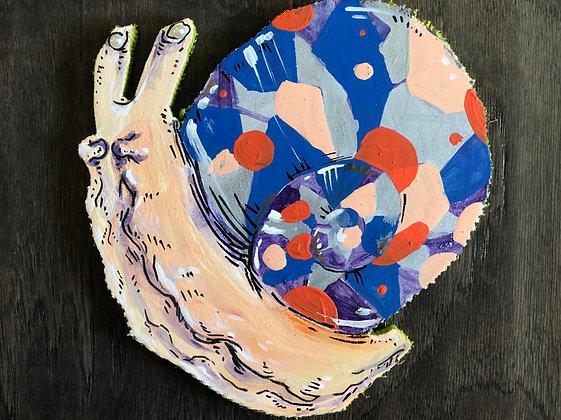 Geometric Gerome Snail Cutout