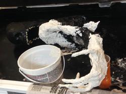 3rd plaster application