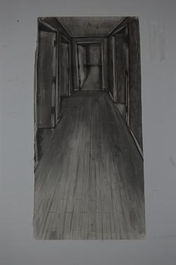 2nd corridor (study)