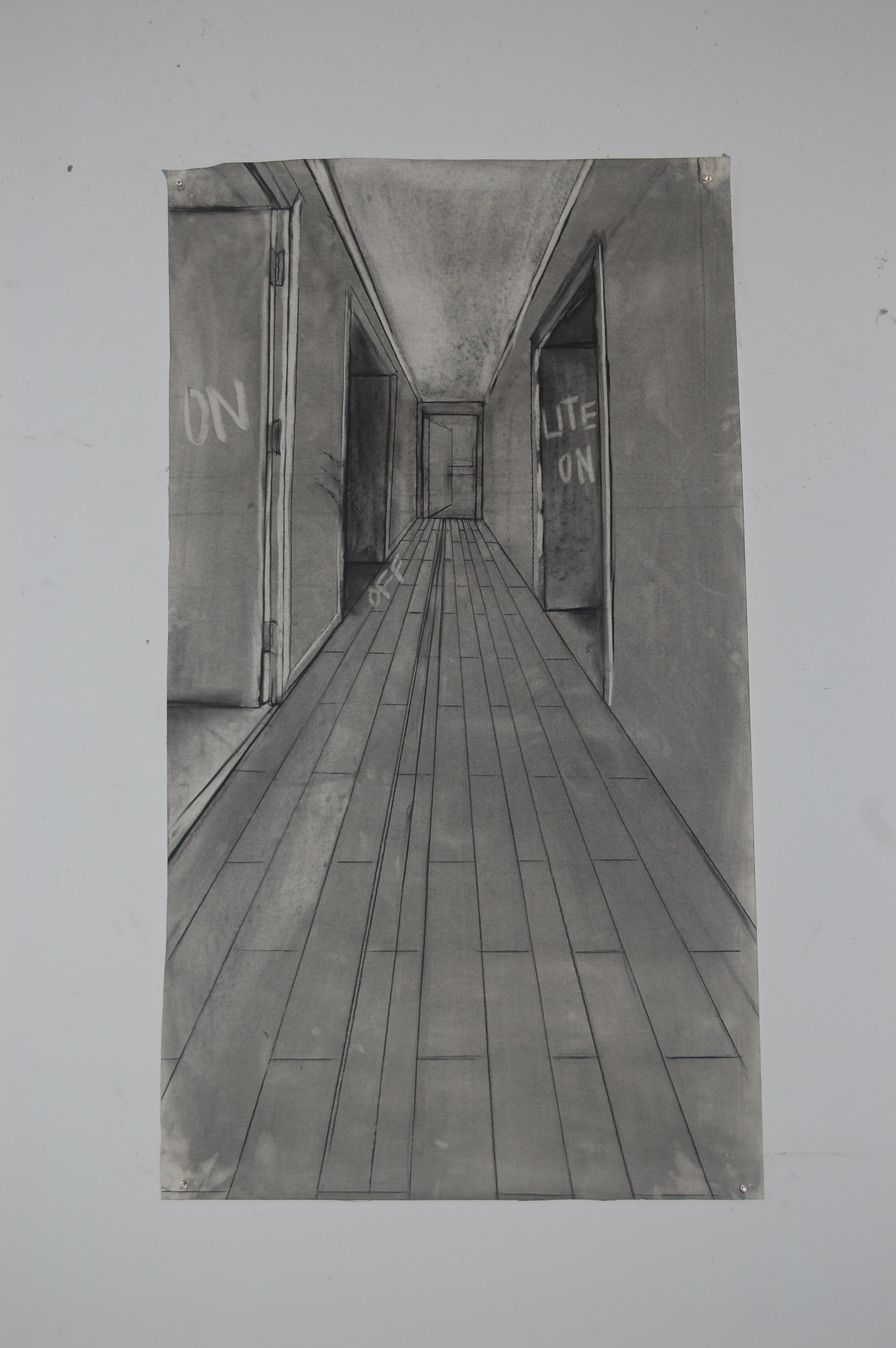 1st corridor (study)