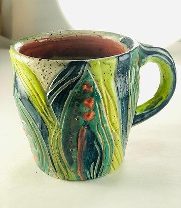 Underbrush Abstract Mug