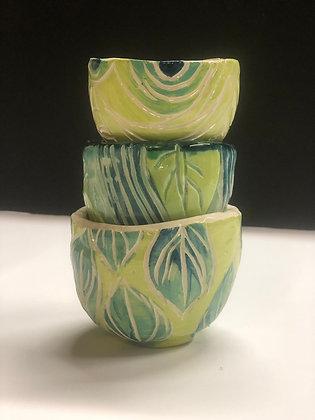 Chartreuse Leaf Set (sm)