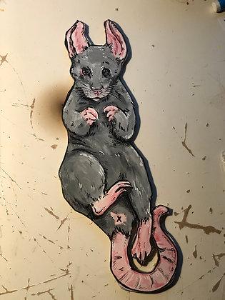 Rat Backstroke Cutout