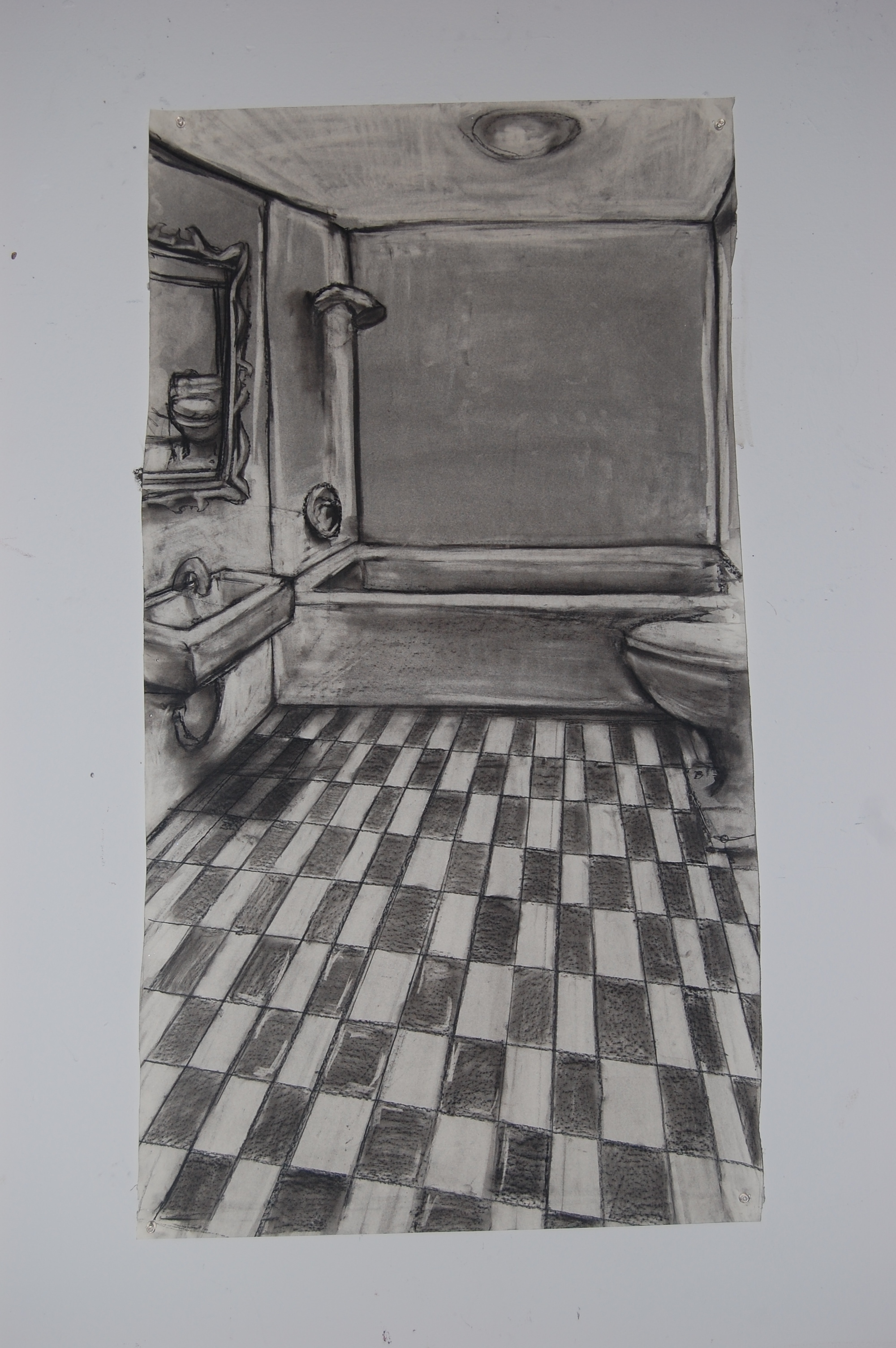 1st bathroom (study)