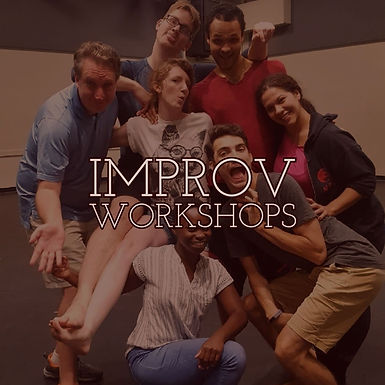 Graduate Actin Students playing with Improv!