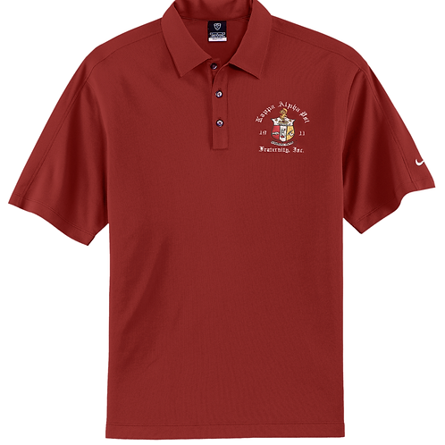 Nike Dri-FIT Golf Polo Shirt with embroidered COA