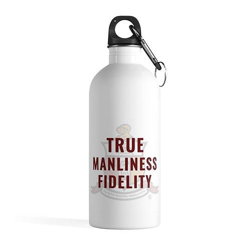 True Manliness Fidelity Kappa Stainless Steel Water Bottle
