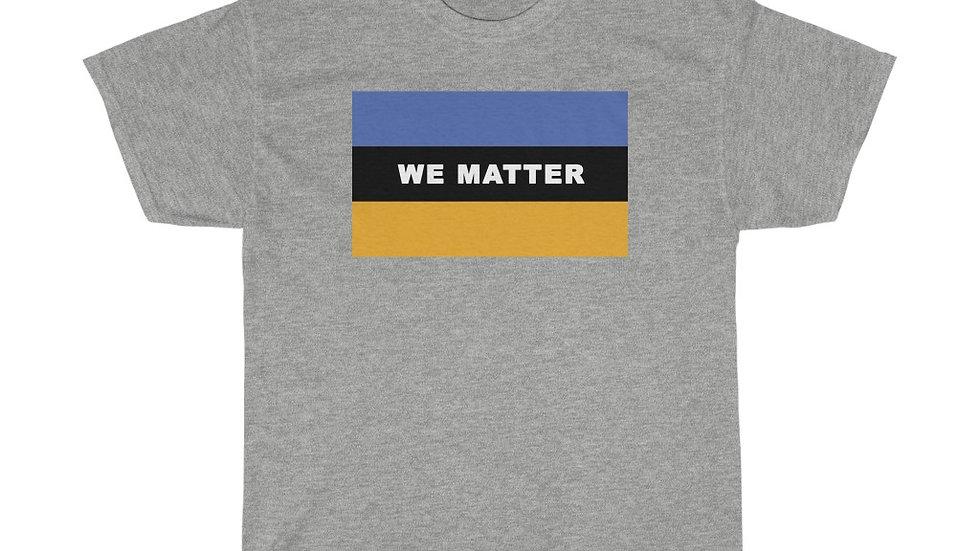 WE MATTER (Royal Blue/Gold)