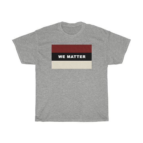 WE MATTER (Crimson/Cream)