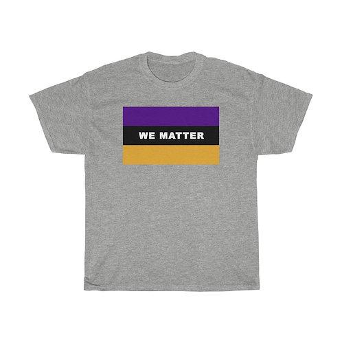 WE MATTER (Purple/Gold)