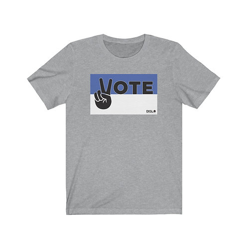 BGLO Royal Blue & White VOTE in Peace T-Shirt