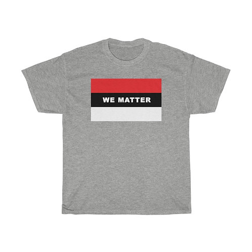 WE MATTER (Red/White)
