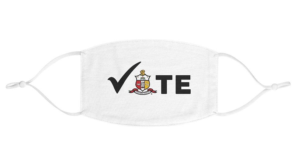 VOTE COA Fabric Face Mask