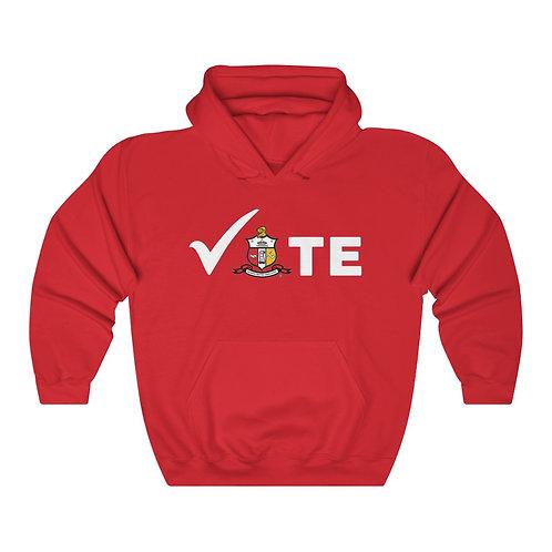 Kappa Alpha Psi VOTE Hooded Sweatshirt