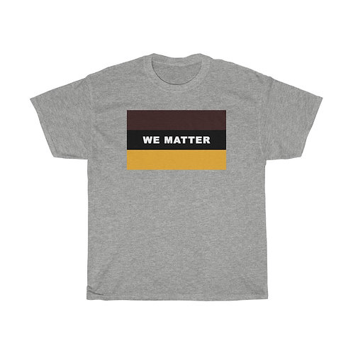WE MATTER (Charcoal Brown/Gold)