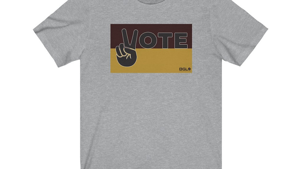 BGLO Brown & Gold VOTE in Peace T-Shirt