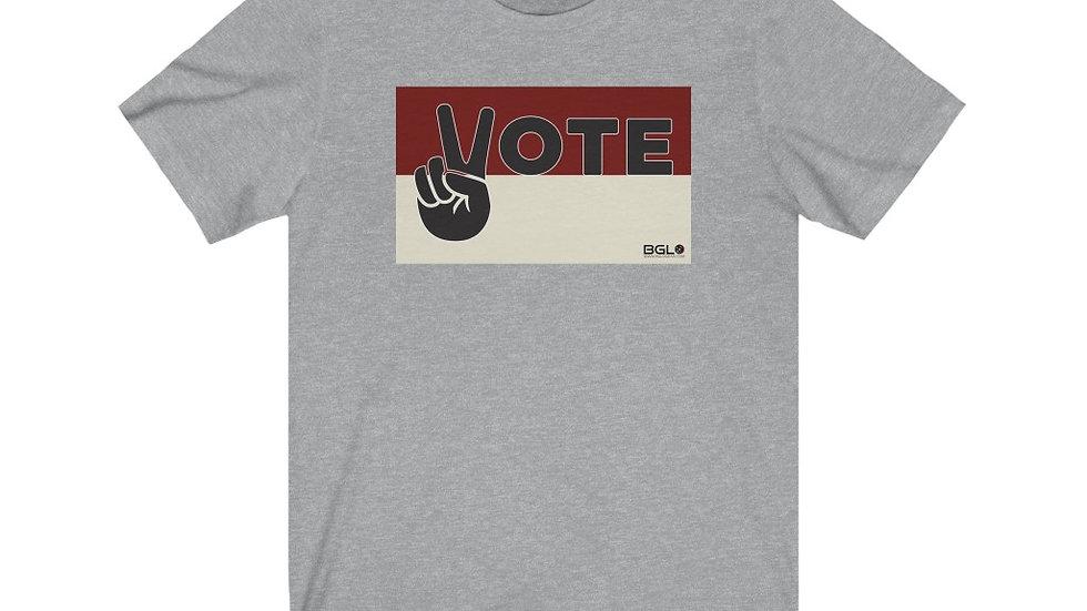 BGLO Crimson & Cream VOTE in Peace T-Shirt