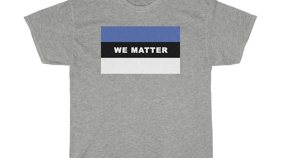 WE MATTER (Royal Blue/White)