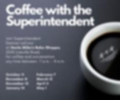 Coffee with Superintendent, dark roast (