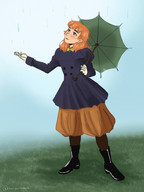 Froud in the rain by @chomperbee