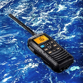 M37, 6 vatios * VHF con Float 'n Flash y 12 horas de funcionamiento