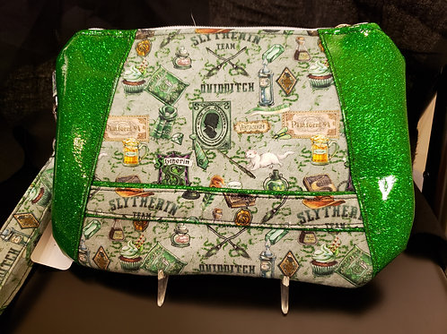 Snake House Clutch Bag