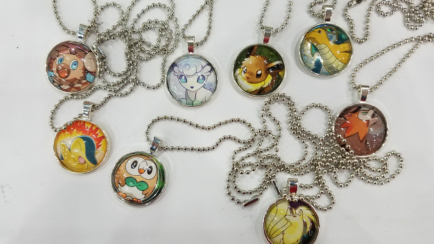 Trading Card Necklace