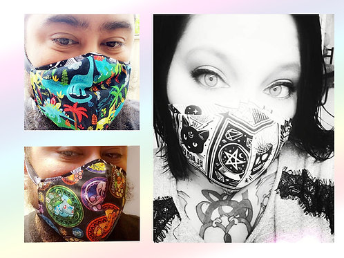 Fashionable Fabric Masks More Designs