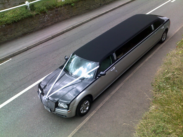 Two Tone Limo in Coventry