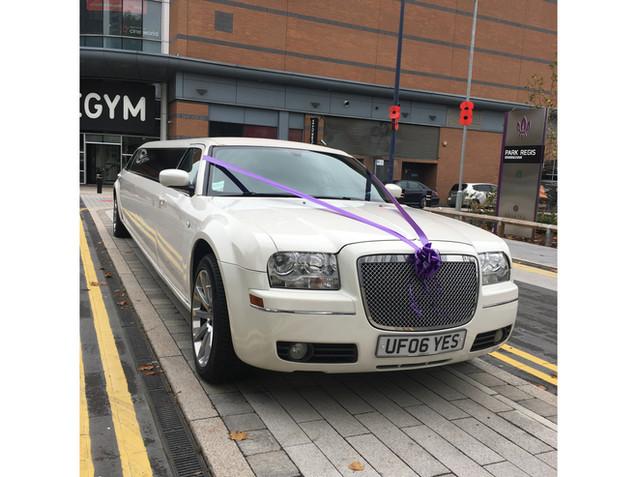 white Baby Bentley Limo