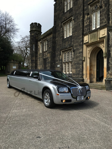 Two Tone Limo in Dudley