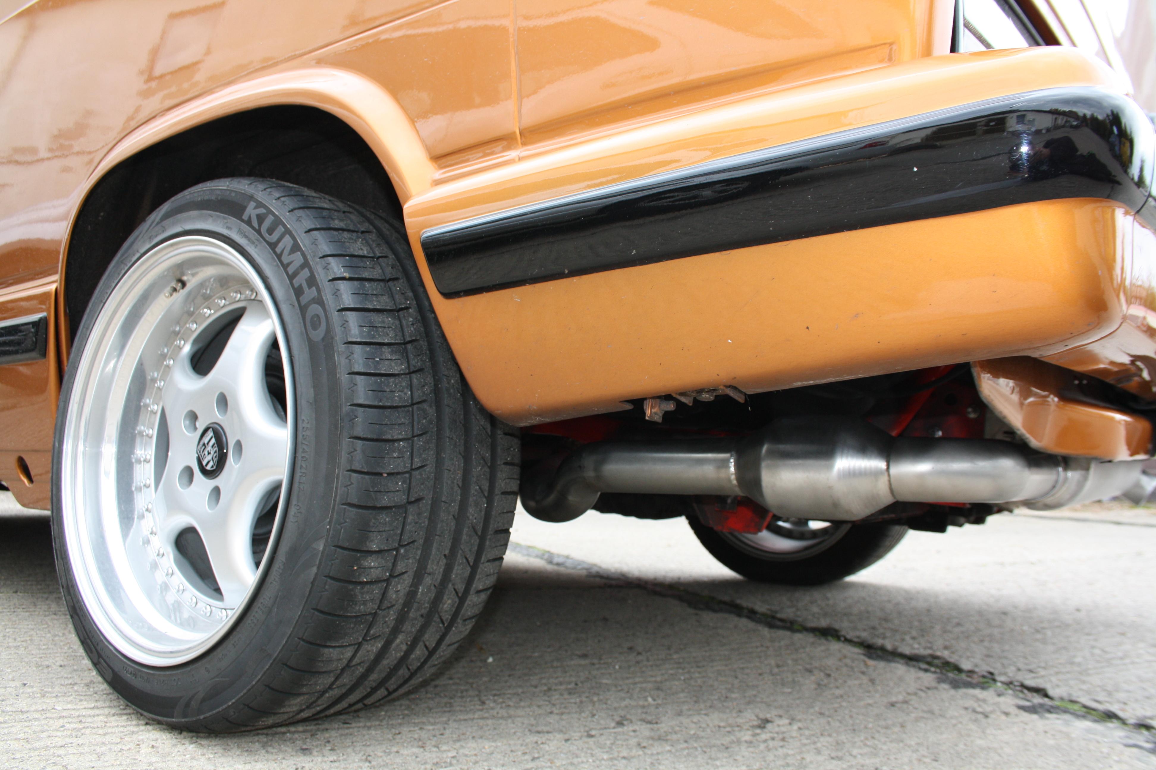 Hosenrohr für VW T3 1Z TDI Umbau