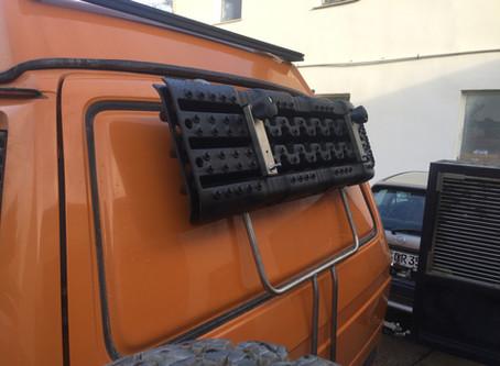 Heckträgersytem VW T3