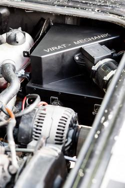Luftfilter, Luftfiltergehäuse, Ansauganlage VW T3 TDI Umbau und 2E