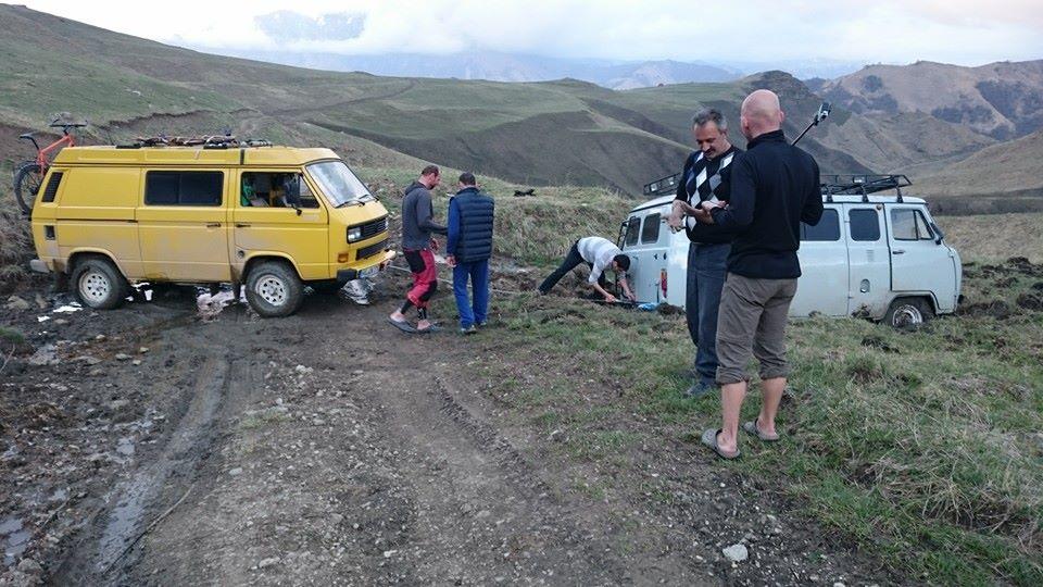 Bergung im Kaukasus